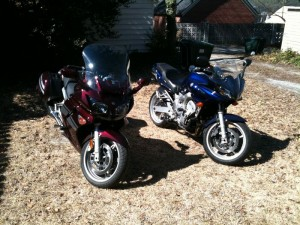 My FJR and FZ6