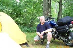 Me at Two Wheels Only Motorcycle Resort with FZ6