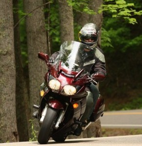 Me cruising on US129, aka, The Dragon