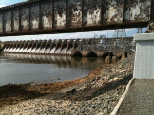 Tillery Dam