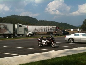Last rest stop on I-40 before hitting TN