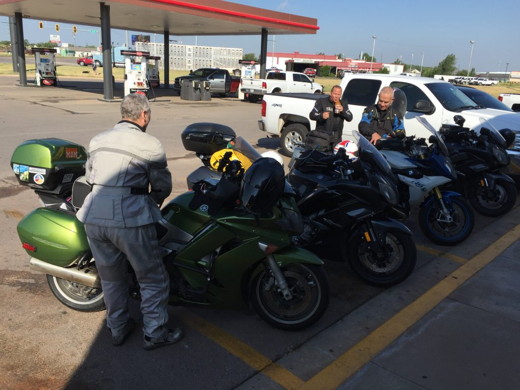 Fuel stop in Woodward, OK